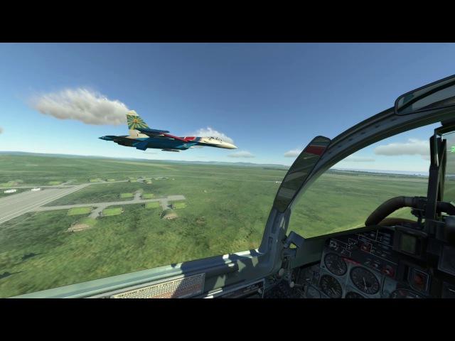 Тренировка ромба Су-27