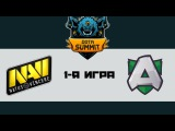 NaVi vs Alliance #1 (bo3) | Summit 7, 13.05.17