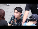 170813 엑소 EXO - 날봐줘요. 도경수 디오 D.O 직캠 Fancam 신촌팬사인회 by Mera
