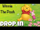 Глагол to DROP IN из мультфильма Winnie The Pooh