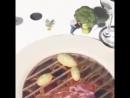 Ресторан в Италии развлекает гостя с дополненной реальностью используя 3D проекцию пока их заказ не будет готов