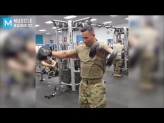 Super soldier - fit  strong
