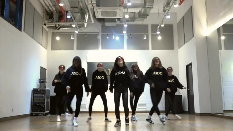 2017.03.29 A100 Entertainment First Project — PRACTICE THREE (방탄소년단 (BTS) — 피땀눈물 (Blood Sweat Tears))
