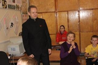 Приём в комсомол, 2013 г. (фото Рулев Е.В.)