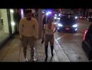 Becky G And Her Injured Soccer Stud Sebastian Lletget Dine In WeHo
