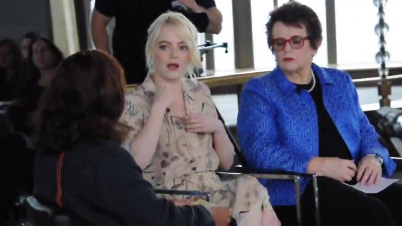 Мероприятия | Эмма и Билли Джин Кинг беседуют с посетителями ресторана «Rainbow Room» | 19 сентября 2017