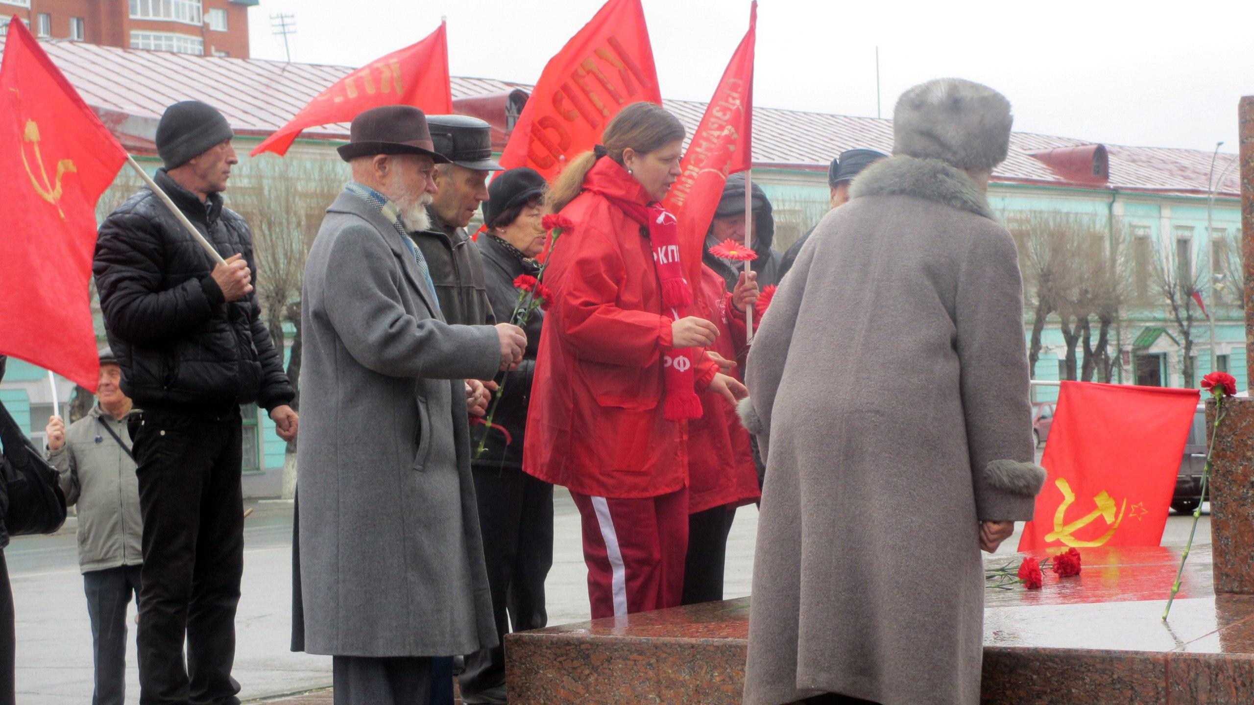 Сызрань КПРФ 22.04.17