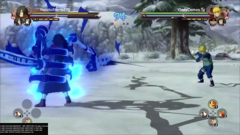 NARUTO SHIPPUDEN_ Ultimate Ninja STORM 4 ROAD TO BORUTO Онлайн битвы 2