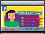 Does Facebook Technical Support 1-850-316-4893  team have the adept technicians