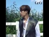 [BTS] 25.09.2017 DongWoon - Ceci Korea Magazine October 2017 Issue Photoshoot Making