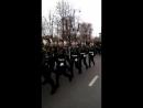 Последние моменты парада ко Дню Победы 2017. Курсанты ВА ВКО им. Г.К.Жукова