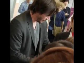 Keanu in Japan at Narita air port😊👍