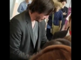 Keanu in Japan at Narita air port??