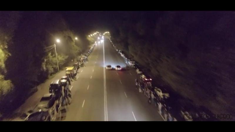 У Рівному відбулась нічна гонка, на якій близько 50-ти гонщиків влаштували грандіозне шоу