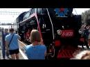 привет из прошлого прибытие паровоза на станцию Карасук 2017г