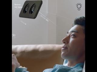 Концепт дрона от LG | Классная идея, дрон и смартфон в одном устройстве.