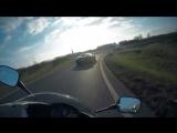 Bugatti Veyron VS. Yamaha R1 VS. Honda CBR600RR