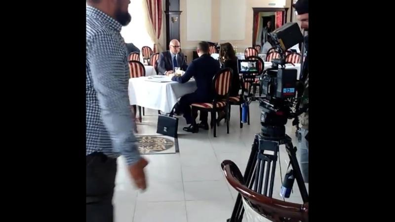 Видео со съёмок сезона