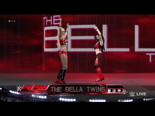 Summer Bevis Paige Bevis as The Bella Twins - WWE 2K16