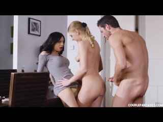 Lucy Heart & Julia De Lucia - Three Thirsty Tigers All Sex, Hardcore, Gonzo, Blowjob