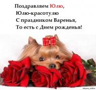 С днем Рождения, Юлия !