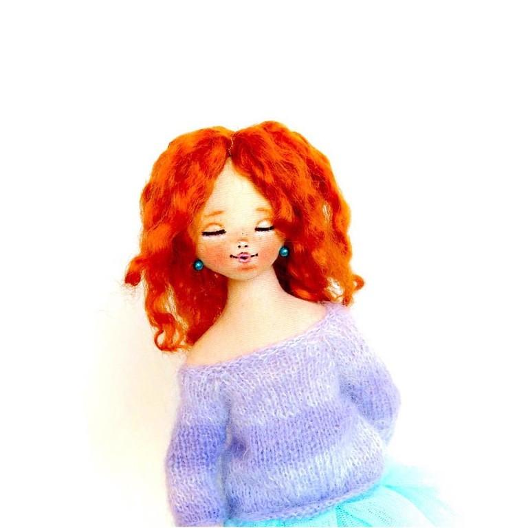 авторские куклы текстильные