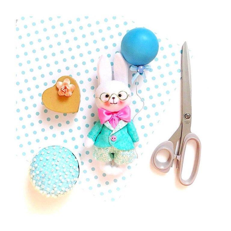 заяц игрушка ручной работы