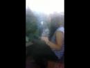 Голая и пьяная школьница показала сиськи1