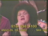 Etta James performs two songs on the 1982 National Easter Seal Telethon