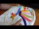 Como bordar tallo y pétalos de mi flor Tenango Parte 3