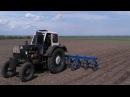 ЮМЗ-6 турбо и КРН-5.6 прополка кукурузы 2017
