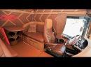 Настоящий американский грузовик внутри ОБЗОР KENWORTH T2000 1 я серия КАБИНА И САЛОН