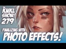 KNKL 279: Finalizing a painting with Photo Effects!