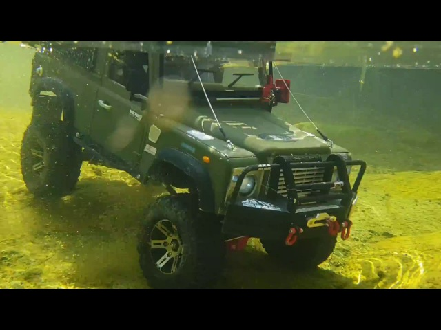 RC4WD D90 Land Rover Defender Whoa-myung Valley Adventre