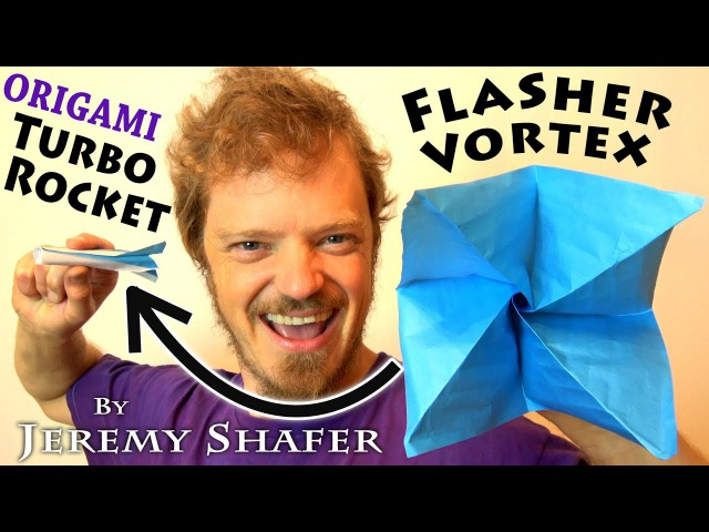 Origami Turbo Rocket Flasher Vortex