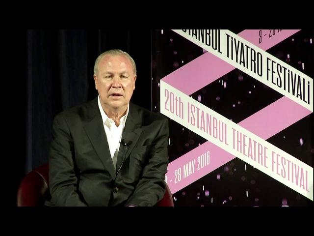 Panel with Robert Wilson / 20. İstanbul Tiyatro Festivali