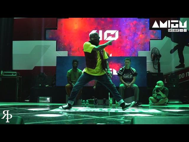 Esciptatim vs Sharen Funk Style Top32 Eat D Beat AMITY 2017 Bandung Indonesia