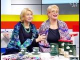 Светлана Шваб и Елена Ковалева, владелицы магазина Павлопосадские платки в Мин...