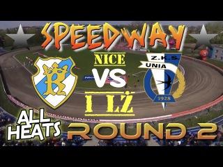 Speedway 2017 Nice 1 LŻ Round 2 Arge Speedway Wanda Kraków VS Grupa Azoty Unia Tarnów All Heats
