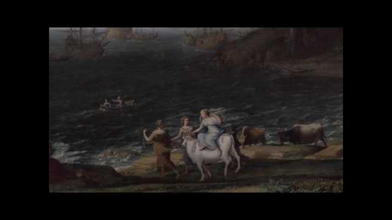 Мой музей Выпуск 18. Картина Клода Лоррена Похищение Европы