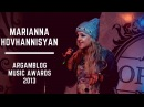 Marianna Hovhannisyan - Arants qez ARGAMBLOG Music Awards 2013