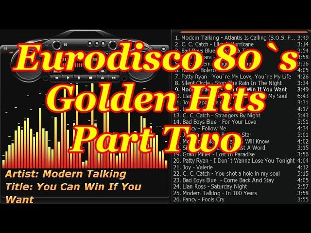 Eurodisco 80`s Golden Hits part two