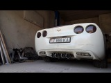 Custom exhaust Corvette C6