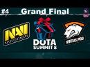 Grand Final NaVi vs VP RU #4 (bo5) Summit 8 Qualifier Minor 14.11.2017