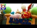 Видео для детей Детская площадка и Герои из Улица Сезам Парк Развлечений Funny Play a...