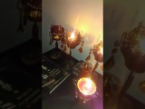 Andreas Bathory Live stream -How to make Vampire nails at home! Welcome to my crypt!