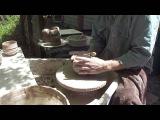 MIelkeway wabi sabi Chawan pottery demonstration