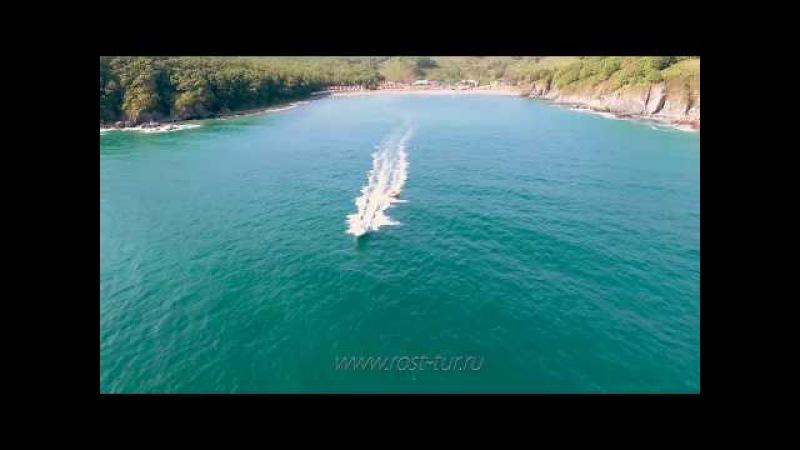 База отдыха 27регион rsttur.ru бухта Анна п. Ливадия покатушки за катером на надувной...