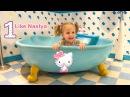 ЛАЙК НАСТЯ в гостях у Hello Kitty / Влог на детской площадке Дом Китти