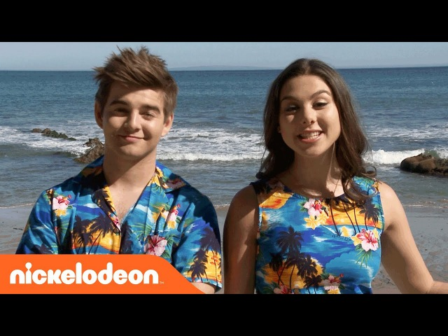 BTS w/ Kira Kosarin Jack Griffo on 'Thunder in Paradise' | The Thundermans | Nick